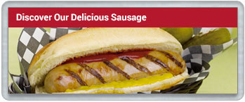 Discover our delicious sausages