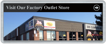 Visit our factory outlet store